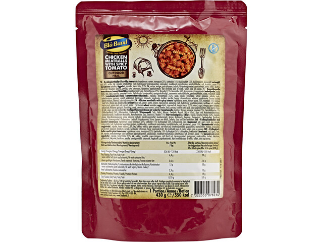 Bla Band Outdoor Mahlzeit 430g Chicken Meatballs with spicy Tomato Sauce
